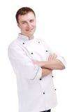 Jonge chef-kok Royalty-vrije Stock Afbeelding