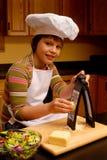 Jonge Chef-kok Royalty-vrije Stock Foto