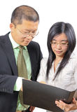 Jonge Chinese bedrijfsmensen Royalty-vrije Stock Afbeeldingen