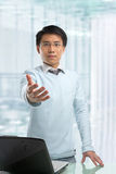 Jonge Chinese zakenman Royalty-vrije Stock Foto