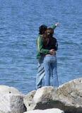 Jonge couple1     Stock Foto's