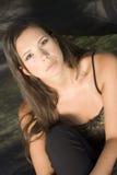 Jonge dame Royalty-vrije Stock Foto's