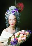 Jonge dame Royalty-vrije Stock Afbeeldingen