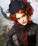 Jonge dame royalty-vrije stock foto
