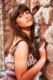 Jonge dame stock fotografie
