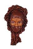 Jonge Dame Mask Royalty-vrije Stock Foto's