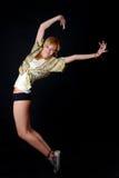Jonge danser stock afbeelding