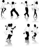 Jonge dansers #2 vector illustratie
