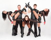 Jonge dansers Stock Foto's