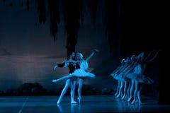 Jonge dansersballerina's in klassen klassieke dans, ballet Royalty-vrije Stock Afbeelding