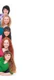Jonge en gelukkige mensen Stock Afbeeldingen