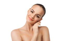 Jonge en goed-verzorgde huid Stock Fotografie