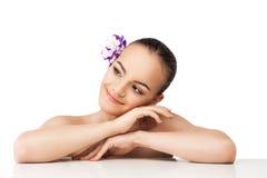 Jonge en goed-verzorgde huid Stock Afbeeldingen