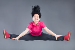 Jonge en mooie vrouwendanser Royalty-vrije Stock Foto