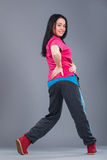 Jonge en mooie vrouwendanser Royalty-vrije Stock Afbeelding