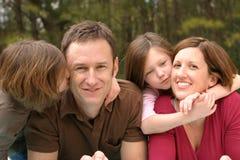 Jonge Familie Royalty-vrije Stock Foto's