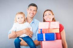 Jonge familie Stock Afbeelding