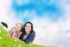 Jonge Familie Stock Fotografie
