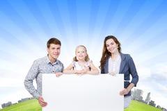 Jonge Familie Royalty-vrije Stock Afbeelding