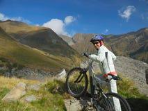Jonge fietser Royalty-vrije Stock Foto