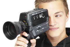 Jonge fotograaf Stock Afbeelding
