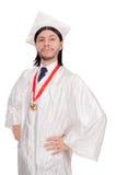 Jonge geïsoleerde student Royalty-vrije Stock Afbeelding