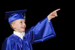 Jonge gediplomeerde Stock Afbeelding
