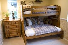 Jonge geitjes 2433 van de slaapkamer Stock Afbeelding