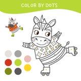 Jonge geitjes die boek kleuren stock illustratie