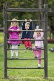 Jonge geitjes die pret hebben Royalty-vrije Stock Foto