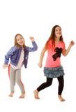 Jonge geitjes het dansen Royalty-vrije Stock Foto