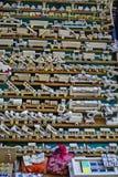 Jonge geitjes houten speelgoed Stock Foto's