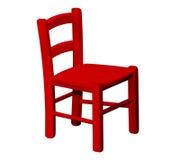 Jonge geitjes houten stoel Royalty-vrije Stock Foto