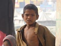 Jonge geitjes in Rishikesh stock foto