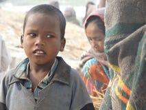 Jonge geitjes in Rishikesh royalty-vrije stock foto's
