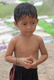 Jonge geitjes van Kambodja Royalty-vrije Stock Foto's