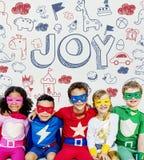 Jonge geitjeskinderen Joy Happy Child Concept royalty-vrije stock foto's