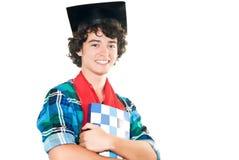 Jonge gelukkige student Royalty-vrije Stock Foto's
