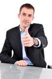 Jonge gelukkige zaken Stock Foto
