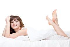 Jonge gezonde vrouw Stock Fotografie