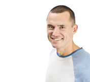 Jonge glimlachende mens royalty-vrije stock afbeeldingen
