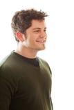 Jonge glimlachende mens Stock Fotografie