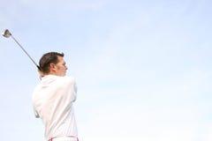 Jonge Golfspeler Royalty-vrije Stock Afbeeldingen