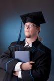 Jonge graduatiemens Royalty-vrije Stock Afbeelding