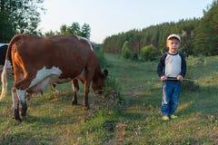 Jonge herder Stock Foto's
