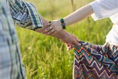Jonge hippies Royalty-vrije Stock Foto