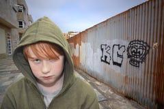 Jonge hooligan Royalty-vrije Stock Afbeeldingen