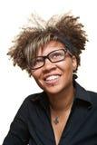 Jonge Hoopvolle Afrikaanse Vrouw stock fotografie