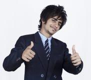Jonge Indische bedrijfsmens Stock Foto