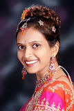 Jonge Indische Prinses royalty-vrije stock afbeeldingen